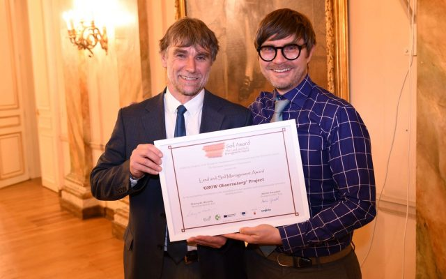 GROW Obeservatory winner award