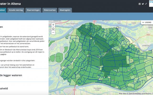 Story Map Grip op water Altena